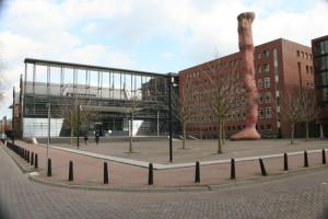 hier staat een foto van de Rechtbank Midden-Nederland